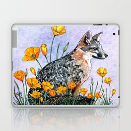 Channel Island Fox (Blue Sky) Laptop & iPad Skin