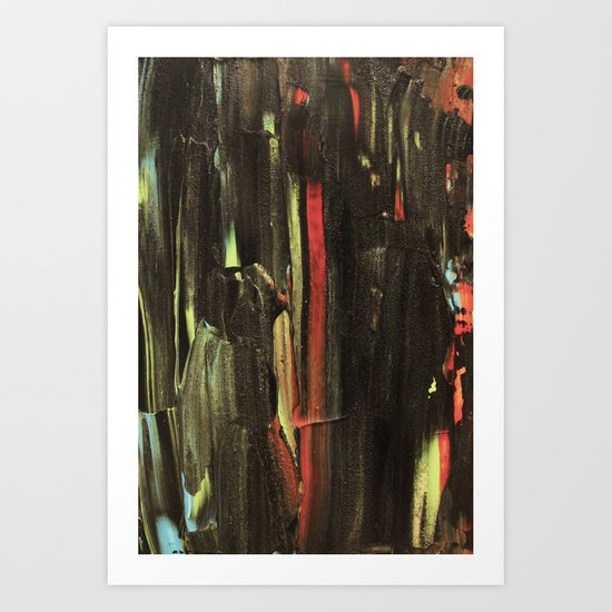 Abstract Painting 34 Art Print