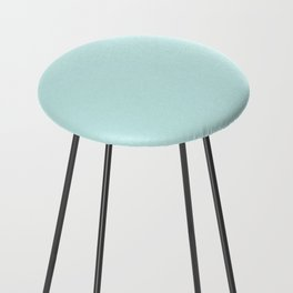 Solid Color Series - Cyanish White Counter Stool