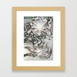 Octopi Framed Art Print