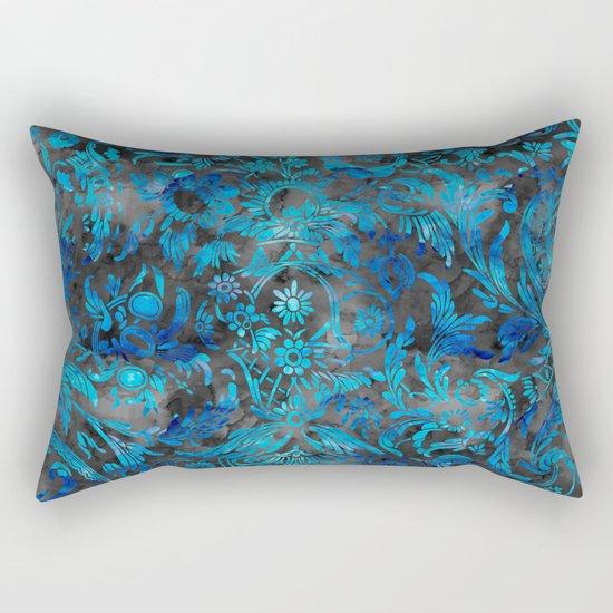 Watercolor Damask Pattern 07 Rectangular Pillow