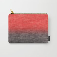 Coral Ombre Carry-All Pouch