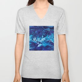 Blue Storm Unisex V-Neck