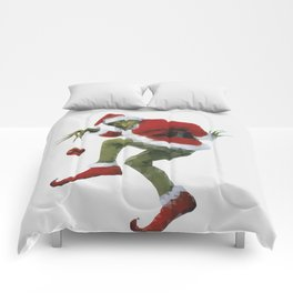 Christmas Grinch Comforters