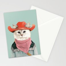 Rodeo Cat Stationery Cards