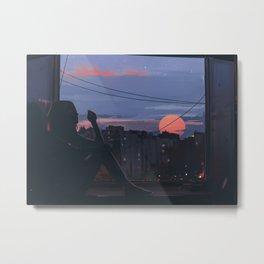 Window Metal Print