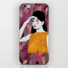 Dalila at night iPhone & iPod Skin