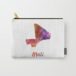 Mali in watercolor Carry-All Pouch