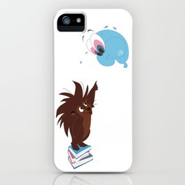 Porcupine and Balloon iPhone Case