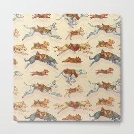 DOG CAROUSEL Metal Print