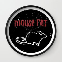 Mouse Rat Wall Clock