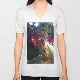 The Light At The End Of The Sidewalk II Unisex V-Neck