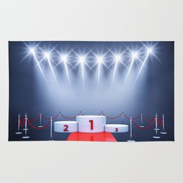 Winner's podium , Award ceremony Rug