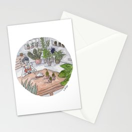 Personal Garden Stationery Cards