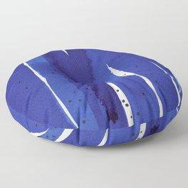 Ultramarine series #7 Floor Pillow
