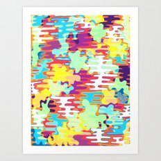 blah Art Print