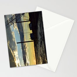 Sunset Over the Barge Stationery Cards