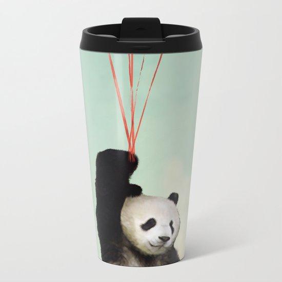 Pandalloons ''' Metal Travel Mug