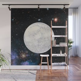 Moon machinations Wall Mural