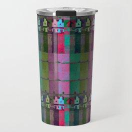 moje miasto_pattern no1 Travel Mug