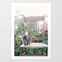austin Art Prints featuring Austin by With Love & Lace...