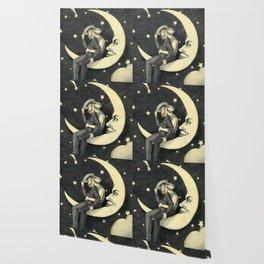 Paper Moon  Wallpaper
