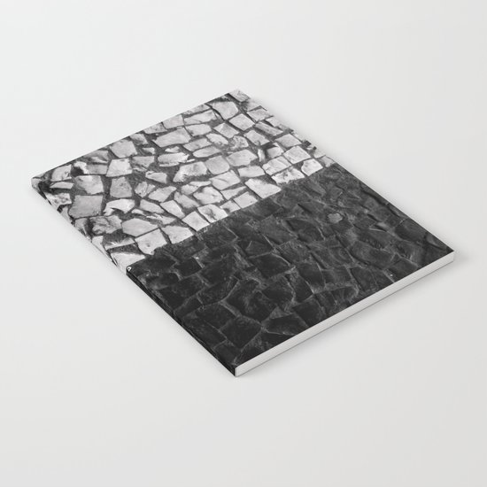 Black and White on the streets Notebook