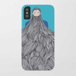 SuperBeard iPhone Case