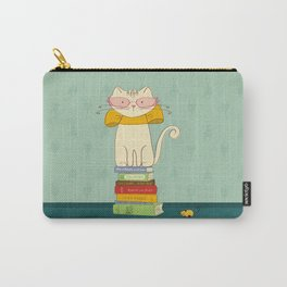 Criticat - your best book reviewer  Carry-All Pouch
