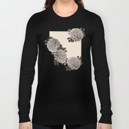 Flowers on a winter day Long Sleeve T-shirt