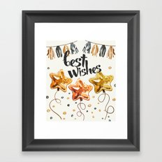 Best Wishes Framed Art Print