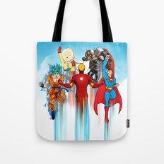 Team Heroes Tote Bag