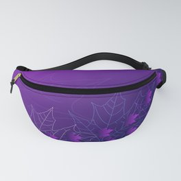 Purple and pink autumn Fanny Pack