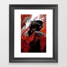 Berserker Wolvie - 2008 Framed Art Print