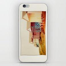 Painted Beach Huts. iPhone & iPod Skin