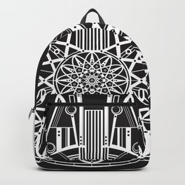 Millennium Falcon Mandala Illustration Backpack