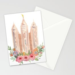 SLC LDS temple Stationery Cards