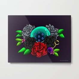 June Birthstone Dragonball #7 Metal Print
