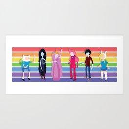 AT Lineup Art Print