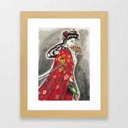 Geisha with A Vendetta Vol. 1 Framed Art Print