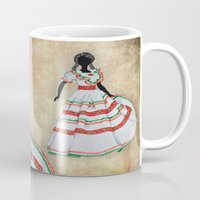 mexico Mugs featuring Mexico by Dany Delarbre
