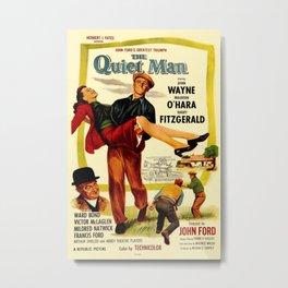Vintage poster - The Quiet Man Metal Print