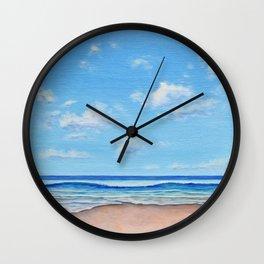 Beach Day 1 Wall Clock