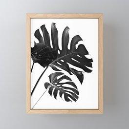 Tropical Monstera Finesse #2 #minimal #decor #art #society6 Framed Mini Art Print