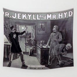 Dr. Jekyll and Mr. Hyde Wall Tapestry
