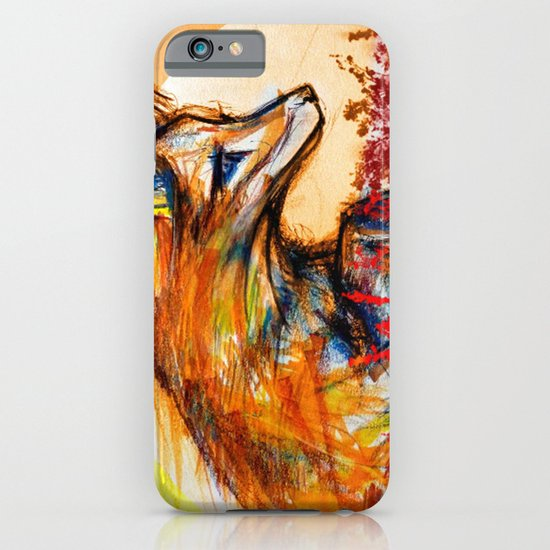 Fox in Sunset II iPhone & iPod Case