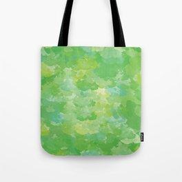 Color Splash: treetops Tote Bag