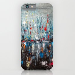 Evening lake district iPhone Case