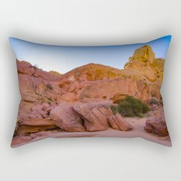 Colorful Sandstone, Valley of Fire - III Rectangular Pillow