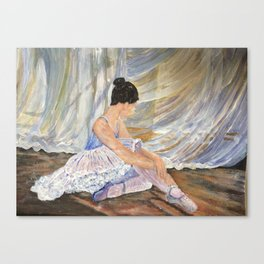Artistic pose Canvas Print